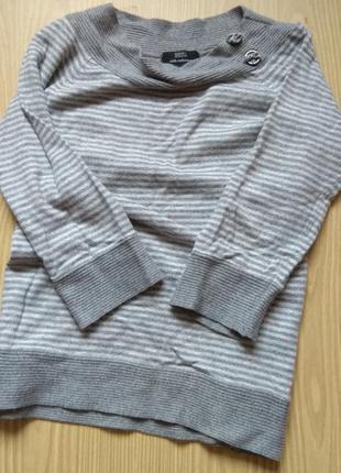 Шерстяной мягкий свитер1