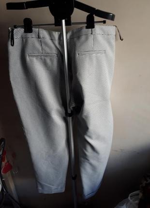 Трендовые брюки гусинная лапа3