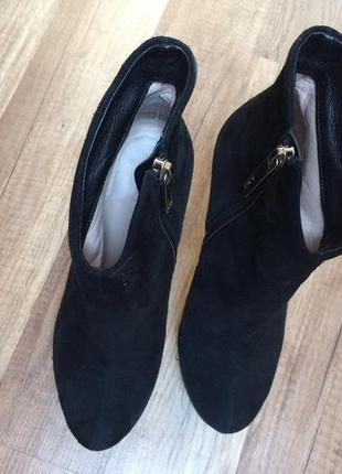 Очень крутые ботинки из натурального замша3