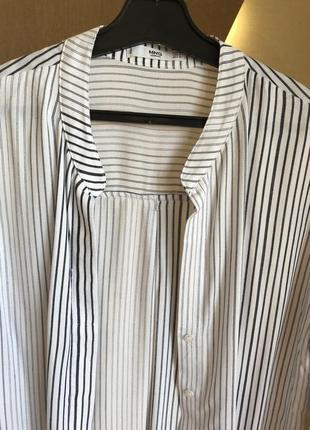 Mango рубашка в полоску2