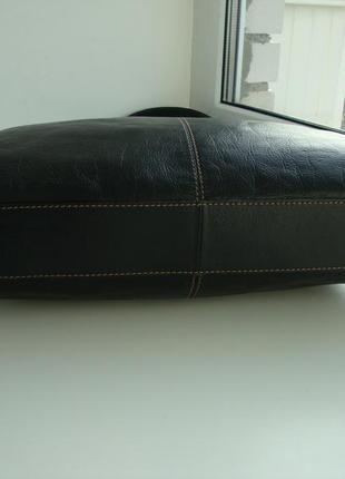 Шкіряна фірмова англійська сумка marks & spencer3