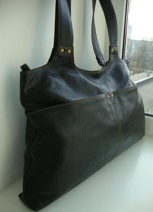 Шкіряна фірмова англійська сумка marks & spencer2