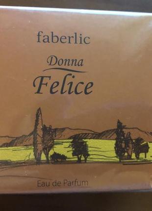 Парфюмерная вода для женщин donna felice от faberlic1