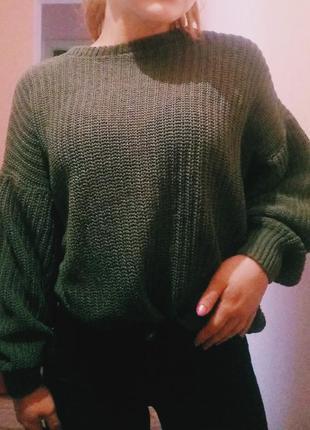 Вязаный свитер 🌿1