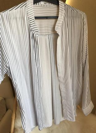 Mango рубашка в полоску5