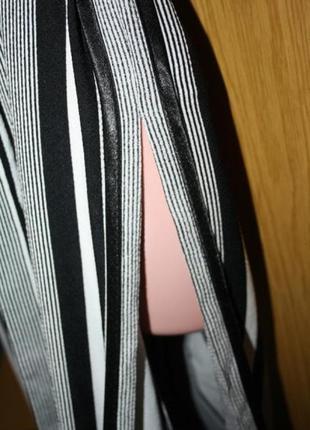 Полосатая накидка кардиган, м3