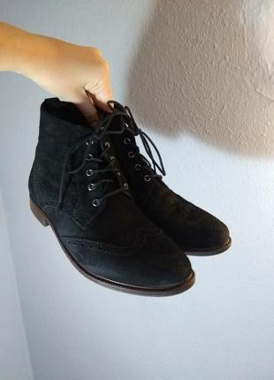 Замшевые ботинки от фирмы asos1