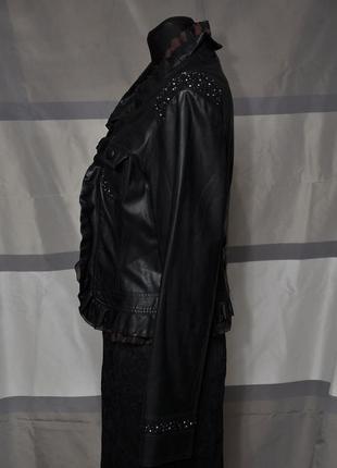 Оригинальная курточка из экокожи5