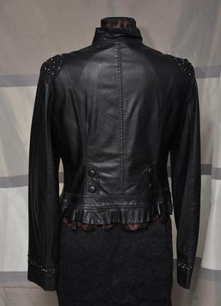 Оригинальная курточка из экокожи3