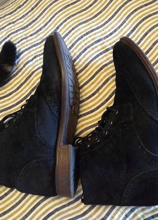 Замшевые ботинки от фирмы asos3