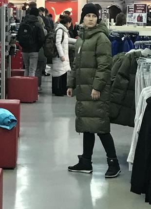 Пухове пальто puma.ориінал.розміри1