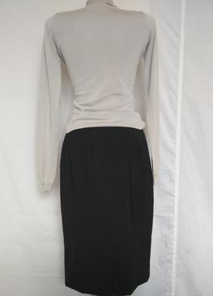 Люкс бренд шерстяная юбка карандаш,р.362