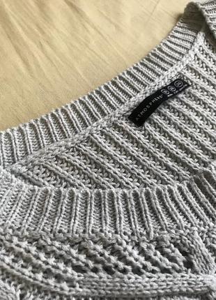 Удлинённый свитер3