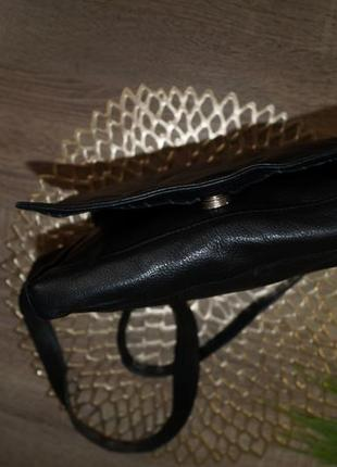 Кожа! классная и практичная сумка средних размеров2