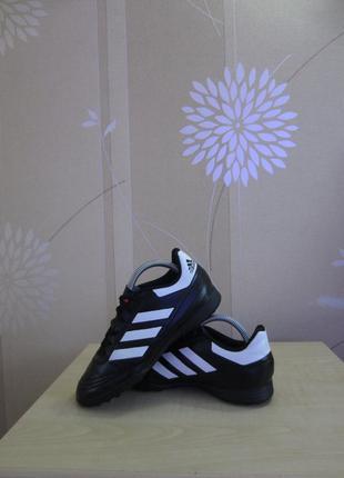 Сороконожки шиповки adidas goletto vi, оригинал, р.35,5