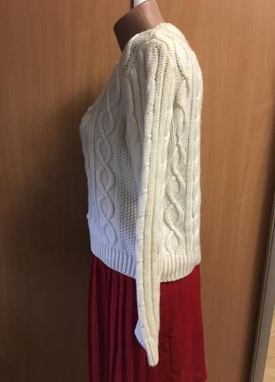 Укорочённый свитерок в косах размер 8-102