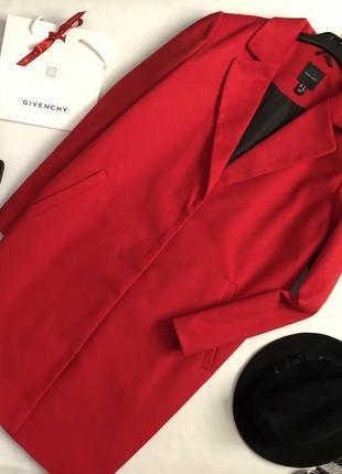 Красивейшее пальто прямого кроя миди new look1