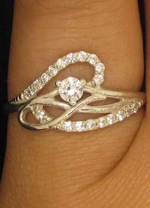 Серебряное кольцо 925 пробы. размеры от 15,5 до 18. новые с бирками.1