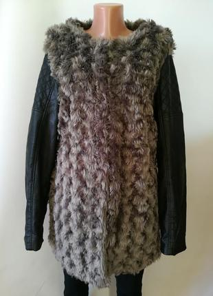 Очень красивая меховая куртка1