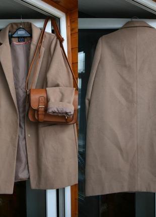 Обалденное кофейное пальто oversize atmosphere5