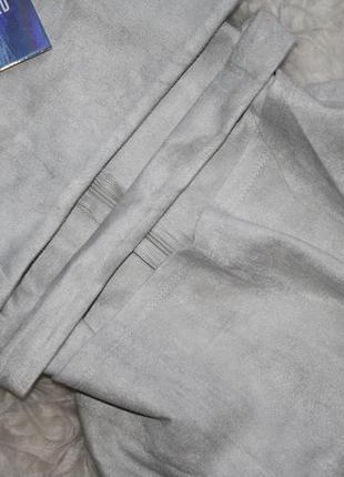 Мягкое оригинальное замшевое платье5