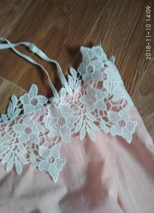 Блуза с кружевом3
