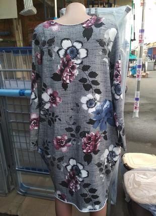 Стильное платье из плотного трикотажа2
