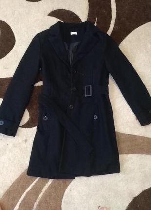 Тёплое кашемировое пальто1