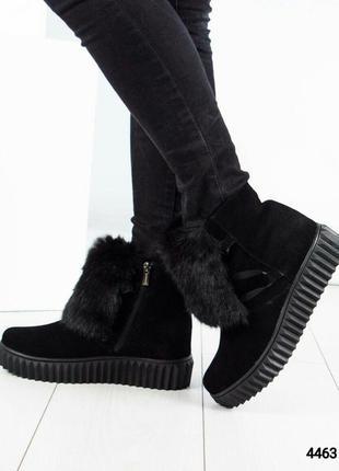 Зимние ботинки хайтопы рр. 37,38,392