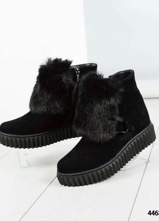 Зимние ботинки хайтопы рр. 37,38,395