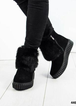 Зимние ботинки хайтопы рр. 37,38,394