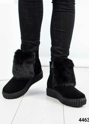 Зимние ботинки хайтопы рр. 37,38,393