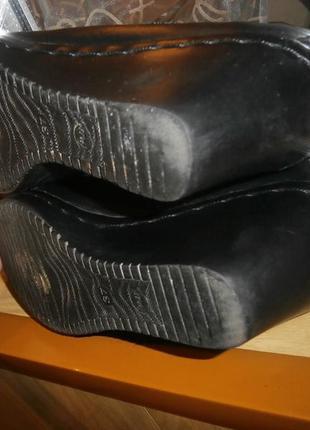 Удобнейшие туфли/нат.кожа/24-24,5 см5