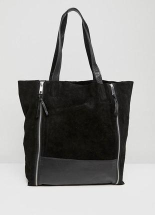 Замшевая сумка urbancode1