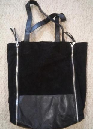 Замшевая сумка urbancode4
