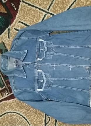 Пиджак джинсовый1