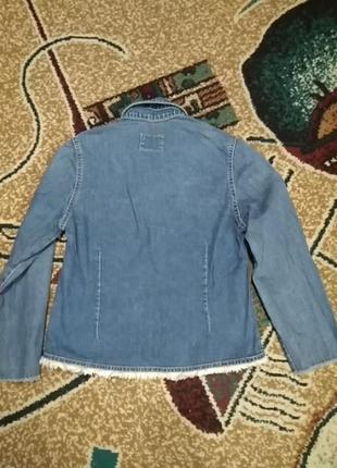 Пиджак джинсовый2