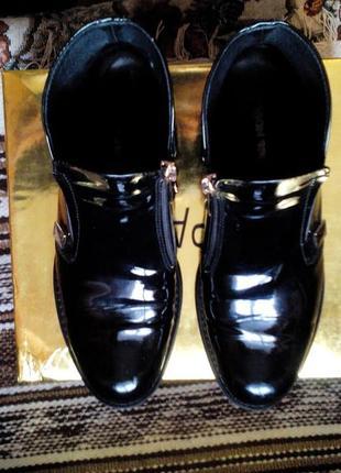 Лаковые ботиночки на осень1