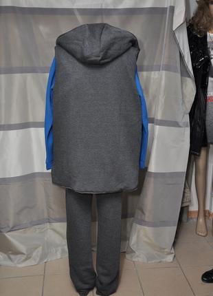 Теплый спортивный костюм-тройка2