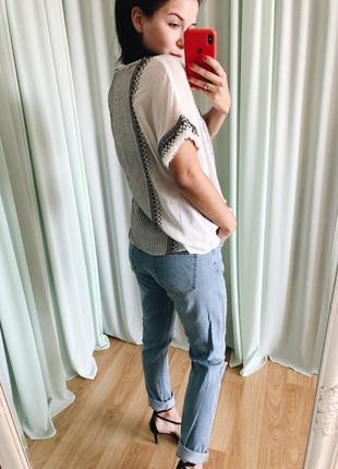 Хлопковая блуза zara3