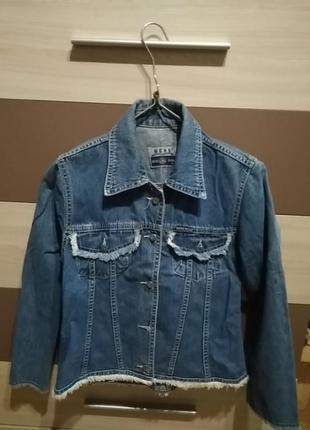 Пиджак джинсовый3