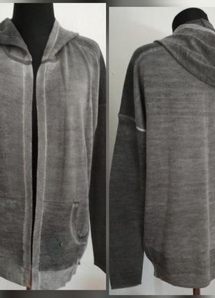 Фирменная, базовая, шерстяная кофта худи, 100% шерсть мериноса, супер качество!!!3