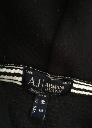 Толстовка свитшот худи armani jeans оригинал3