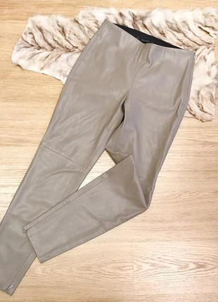 Новые кожаные штаны zara1