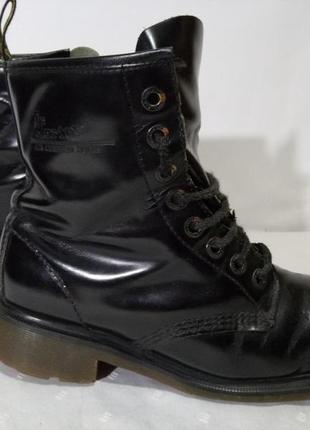 Кожаные сапоги,ботинки dr.martens, 40р,стелька25,5см, хорошее состояние1
