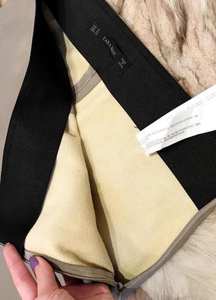 Новые кожаные штаны zara4