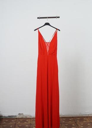 Длинное платье из шифона h&m5