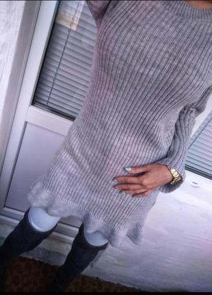 Платье вязаное4