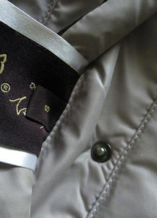 Пуховик женский пальто двусторонний коричневый бежевый куртка зима бойфренд4