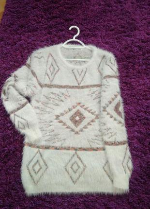 Новый свитер-травка